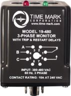 19-480 Time Mark Model 19 480VAC 3-Phase Monitor